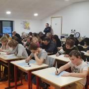 Dictée - Portes Ouvertes Ecole Les Orchidées le 06.01.2019
